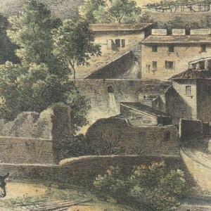 Lithographie de Piccardi vers 1840
