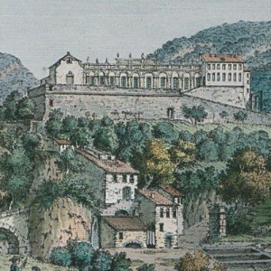 Aquarelle d'Albanis Beaumont vers 1787