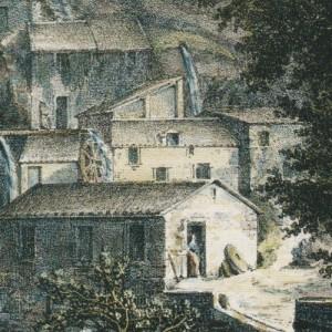 Dessin d'Auguste de Louvois vers 1815