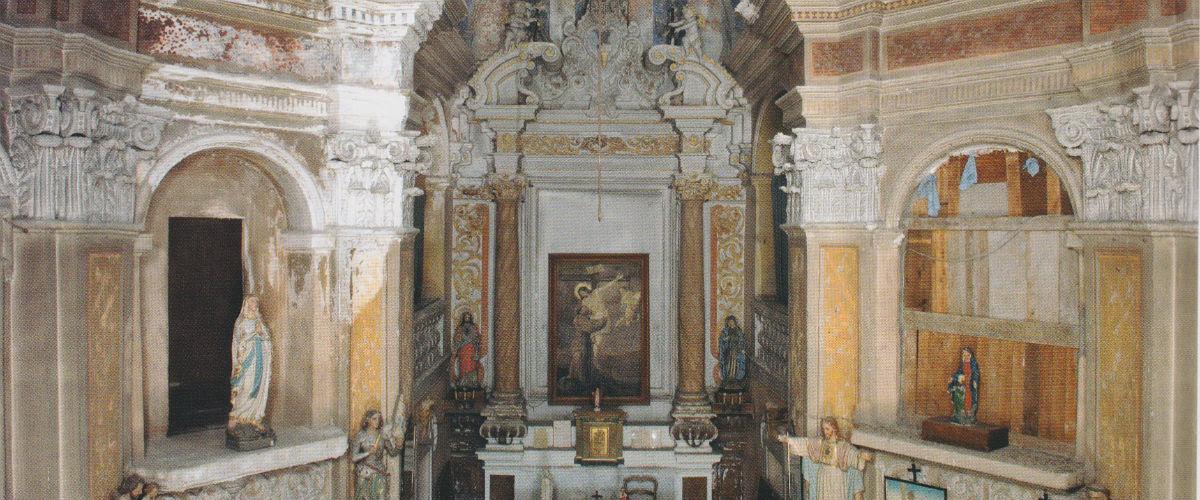 Intérieur de la chapelle du château de Saint-André de la Roche